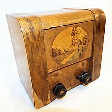 Mechanical Music Box In Inlaid Case