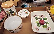 Group Of Dishes, Royal Worcester, Portmeirion