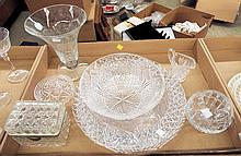 Group Of Glassware, Crystal