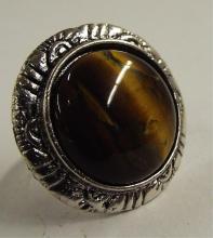 Tiger Eye Estate Ring