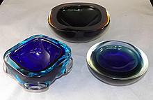 Grouping of Art Glass, 3 pieces