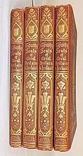Set of 4 British Books, Volumes 1 - 4