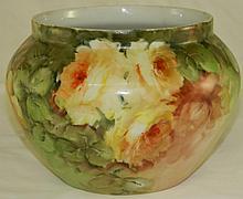 Hand Painted Limoges Porcelain Vase