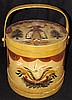Hand Painted Wooden Bucket