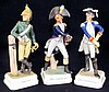 Set of 3 Goebel Soldier Figurines