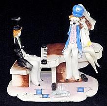 ZamPiva Italian Porcelain Figural Grouping