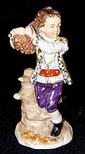 Hand Painted Porcelain Figurine