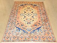 Hand made area rug