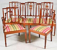 Three Piece Mahogany Parlor Suite 19.c