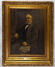 G. Bernard Oil on Canvas of Rt. Hon. Lord Sangwyne