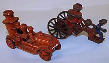 2 Cast Iron Toys