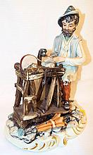 Capodimonte Italy Figural Grouping