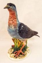 Hand Painted Porcelain Bird Figurine