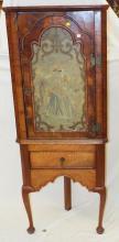 18th Century Italian Beekeeper's Corner Cabinet