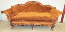 Venetian Settee With Shell Carvings
