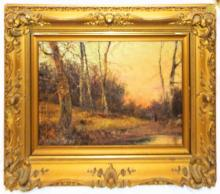 Early Landscape Painting Signed