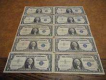 10-1957-A $1 SILVER CERTIFICATES