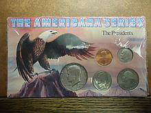 AMERICANA SERIES THE PRESIDENTS SET UNC