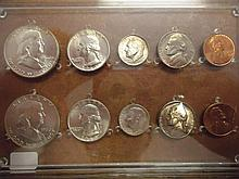 1960 US MINT SET (UNC) P/D NO ENVELOPE SILVER