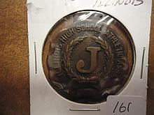 1922 ILLINOIS HIGHSCHOOL ATHLETIC ASSOC. KEY FOB