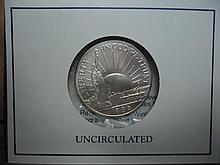 1986-D STATUE OF LIBERTY HALF  DOLLAR UNC