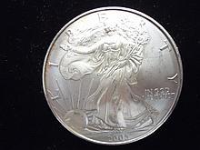 2005 AMERICAN SILVER EAGLE UNC