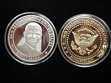2-2009 BARACK OBAMA INAUGURATION TOKENS (PF)