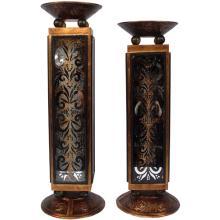 Horchata Candleholder Set of 2