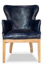 Borken Desk Chair Blue