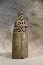 Grey Bottle Vase - S