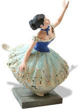 Danseuse Verte Green Ballerina Dancer Statue by Degas