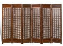 Six Panel Floor Screen