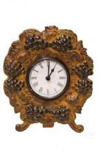 Decorative Grapes Clock