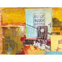City Collage 2 Gallery Wrap