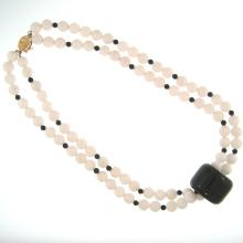 Natural White Jade Necklace