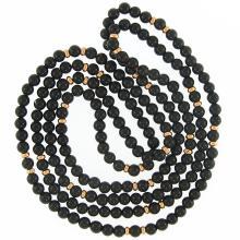 Natural Black Jade Necklace