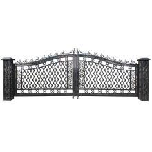 Vanderbilt Wide Gates w/ Posts