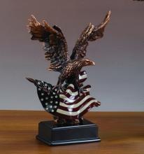 Eagle W/american Flag