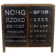 Industrial Eye Chart Cabin