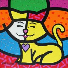 Valter Morais - Feline With Purple Heart