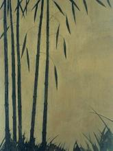 Original Painting By Robert Charon-Bamboo Grove II