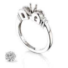 Ring...platinum 6.4 Gram 0.28ct Diamond Si1-si2 G-h