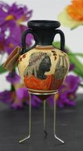 Apollo Rhyton Greek Vase With 2 Handles