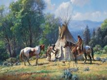 Empty Lodge by Martin Grelle