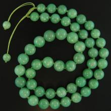 One of a Kind-Natural Green Jade Necklace