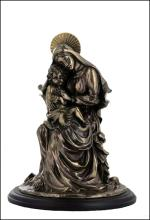 MOTHER MARY AND BABY JESUS - Cold Cast Bronze