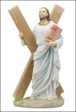 ST. ANDREW THE APOSTLE WITH THE CROSS (LIGHT COLOR)