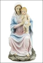 MOTHER MARY HOLDING BABY JESUS (LIGHT COLOR)