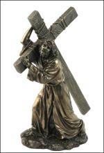 JESUS ON THE WAY TO CALVARY - Cold Cast Bronze
