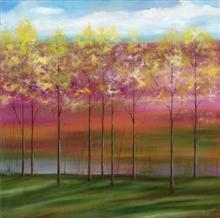 Mary Johnston - Treeline I By Mary Johnston